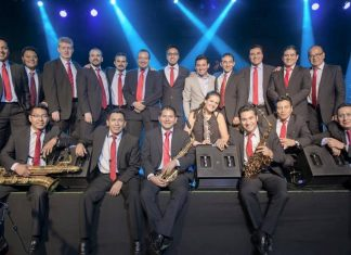 Celebra Big Band Jazz tour por 20 años en Teatro Cedrus