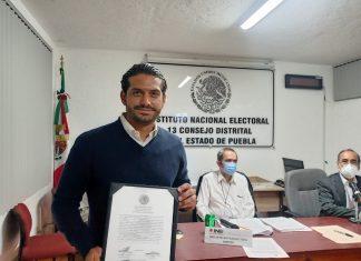 Dan constancia de mayoria a Mario Miguel Carrillo por el distrito 13