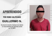 Aprehende PGJE a imputado por robo calificado