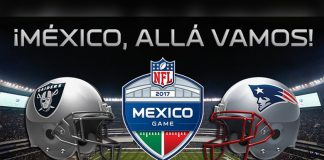 Raiders y Patriotas en el Estadio Azteca