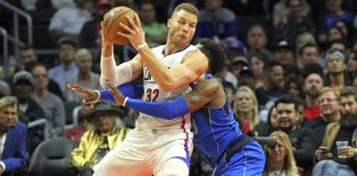 Clippers derrotan a Dallas por 112-101 con 32 de Griffin