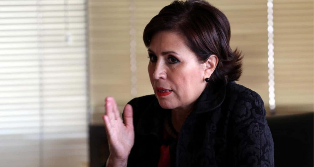 Rosario Robles interpone queja ante CNDH contra MP